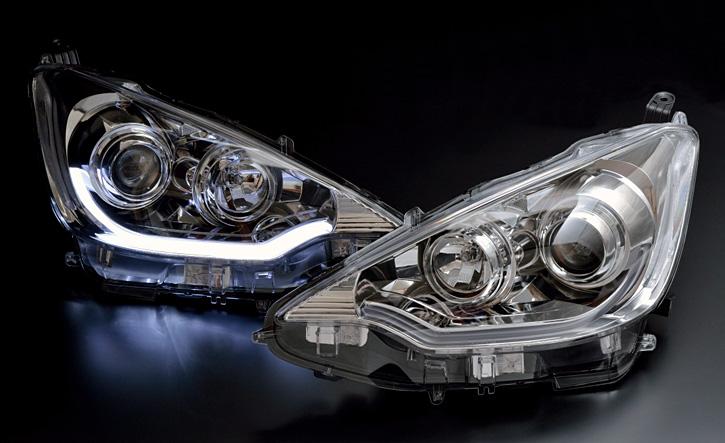 |10系|アクア【プロジェクターヘッドライト】ledパーツ|aqua通販サイトauto Acp