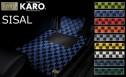 KARO(カロ) 50系エスティマ インテリアマット