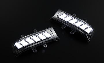 REVIER(レヴィーア) エスティマ LEDパーツ LEDウインカーミラー・流星シーケンシャルウインカー 50系