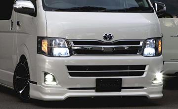 VALENTI(ヴァレンティ) ハイエース 純正ルック・ヘッドライト200系1〜3型
