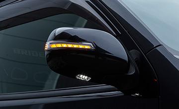 VALENTI(ヴァレンティ) ハイエース LEDパーツ LEDウインカーミラー・シーケンシャルウインカータイプ 200系1~4・5型