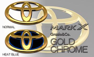 Grazio(グラージオ) 130 マークX ゴールドエンブレム