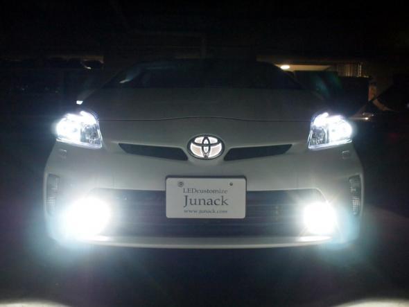JUNACK(ジュナック) プリウス LEDパーツ/LEDIST・LEDフォグ・LEDエンブレム-3