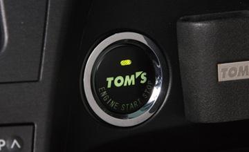 TOM'S(トムス) プリウス プッシュスタートスイッチ30系