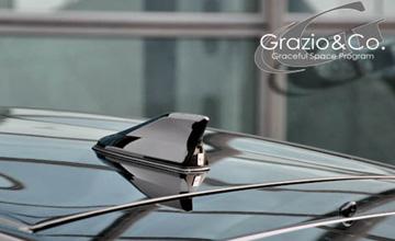 Grazio(グラージオ) プリウス アンテナカバー30系・20系