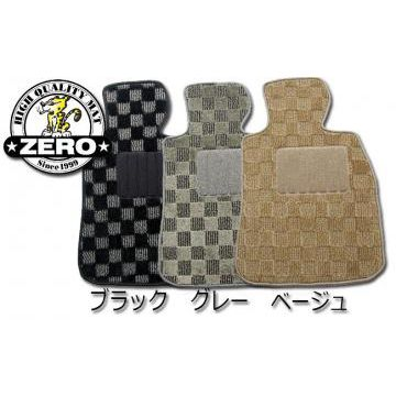 DIC・ZERO(ゼロ) プリウス フロアマット・アダルトチェック30系・20系