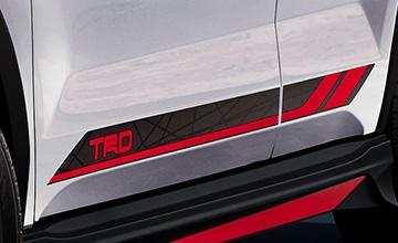 TRD ライズ サイドデカール